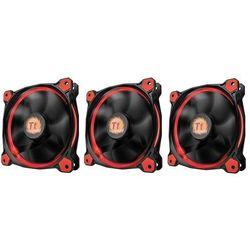 Thermaltake Wentylator Riing 12 LED, 120mm, 3 sztuki, czerwony (CL-F055-PL12RE-A) Darmowy odbiór w 21 miastach!