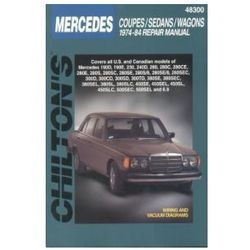 Mercedes-Benz Coupes, Sedans, Wagons 1974 - 1984