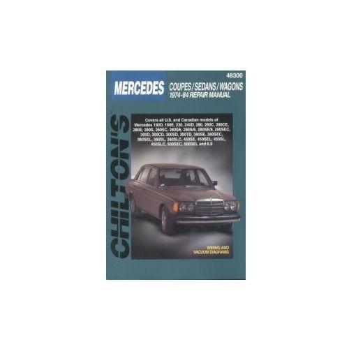 Biblioteka motoryzacji, Mercedes-Benz Coupes, Sedans, Wagons 1974 - 1984