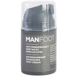 Antyperspirujący odżywczy krem do stóp MANFOOT - K033