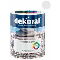 Farby, Farba Lateksowa Akrylit W Kolor Szary Platynowy 5l Dekoral