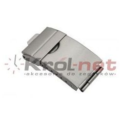 Zapięcie bransoletowe 14mm/7mm z dodatkowym zabezpieczeniem