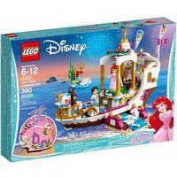 Łodzie i statki dla dzieci, LEGO® Disney Princess 41153 Uroczysta łódź Ariel