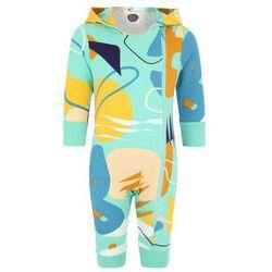 Mainio ZGREEN BABY PERFORMANCE BABIES HOODED Kombinezon blue