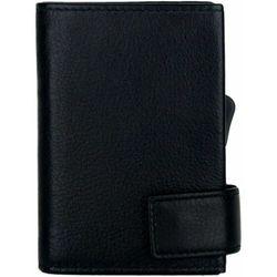 SecWal SecWal 2 Kreditkartenetui Geldbörse RFID Leder 9 cm schwarz ZAPISZ SIĘ DO NASZEGO NEWSLETTERA, A OTRZYMASZ VOUCHER Z 15% ZNIŻKĄ