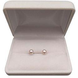 Kolczyki z sino-różowymi perłami 5-5,5 mm PGK07-1