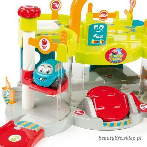 Garaże dla dzieci, SMOBY Vroom Planet Mój pierwszy garaż