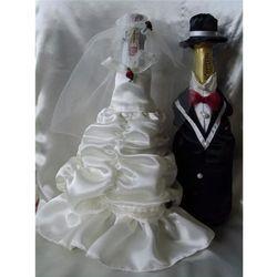 Ubranko na butelkę szampana lub wina Bella
