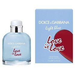 Dolce&Gabbana Light Blue Love Is Love woda toaletowa 75 ml dla mężczyzn