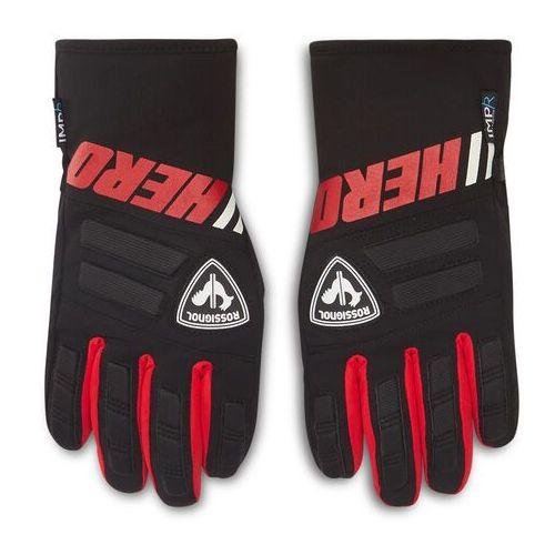 Rękawice ochronne, Rękawice narciarskie ROSSIGNOL - Jr Race Impr G RLIYG02 Crimson 304