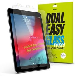 Ringke Dual Easy Glass Coated szkło hartowane flexi 9H iPad 9.7'' 2018 / iPad 9.7'' 2017 / iPad Air 2 / iPad Air (DCAP0004)