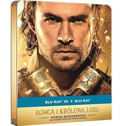 Łowca I Królowa Lodu 2D+3D Steelbook