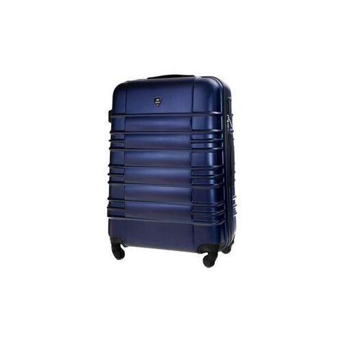 Torby i walizki, Średnia walizka podróżna m stl838 granatowa
