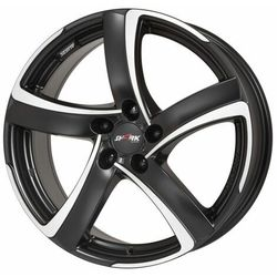 Alutec SHARK RACING BLACK FRONTPOLISHED 7.00x17 4x100 ET40