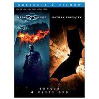 Pakiety filmowe, Batman Początek / Mroczny Rycerz kolekcjonerski (4xDVD) - Christopher Nolan DARMOWA DOSTAWA KIOSK RUCHU