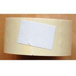 Rolka do metkownicy dwurzędowej - 2,6x1,6cm biała prosta