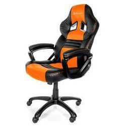 Fotel gamingowy Arozzi MONZA (MONZA-OR) Czarna/Pomarańczowa