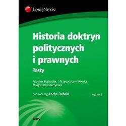 Historia doktryn politycznych i prawnych Testy (opr. miękka)