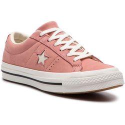 Tenisówki CONVERSE - One Star Ox 161586C Rust Pink/Egret/Vintage White