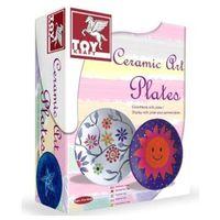 Kreatywne dla dzieci, Ceramiczne talerze 39 416 - Toy Kraft