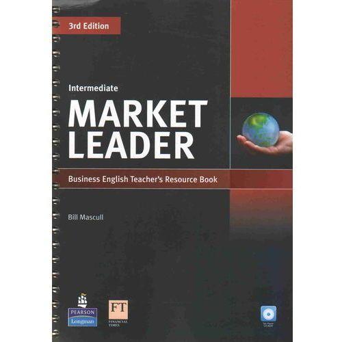 Książki do nauki języka, Market leader intermediate Teacher`s resource book (opr. miękka)