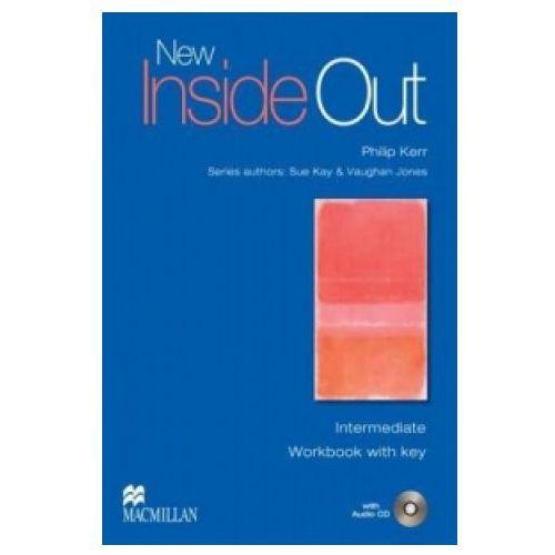 Książki do nauki języka, New Inside Out Intermediate Ćwiczenia + CD (z Kluczem) (opr. miękka)