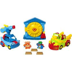 MagicBox Super Zings misja Napad na Bank 2 figurki + 2 pojazdy seria 5