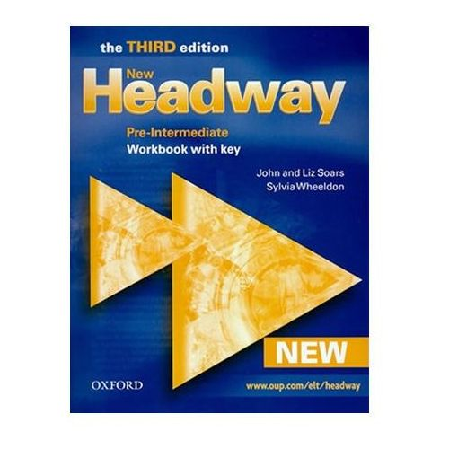 Książki do nauki języka, New Headway Pre-Intermediate Workbook with key 3ed (opr. miękka)