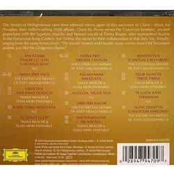 CHANT FOR PEACE - Cistercian Monks Of Stift Heiligenkreuz (Płyta CD)