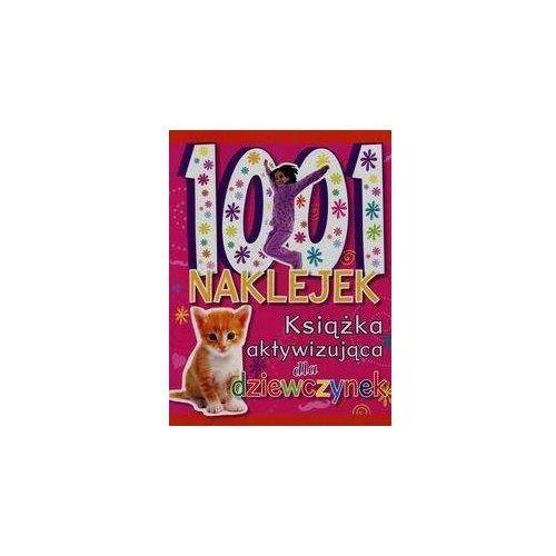 Książki dla dzieci, 1001 naklejek Książka aktywizująca dla dziewczynek (opr. miękka)