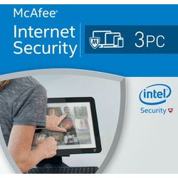McAfee Internet Security 3 PC / 1 rok