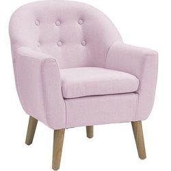 Fotelik kids concept różowy
