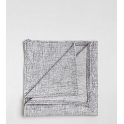 Noak pocket square in jersey texture - Grey
