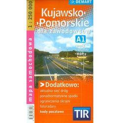 Kujawsko-Pomorskie dla zawodowców TIR mapa samochodowa 1:250 000 (opr. miękka)