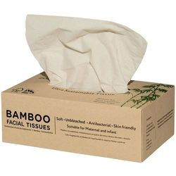 Chusteczki higieniczne z bambusa 3-warstwowe