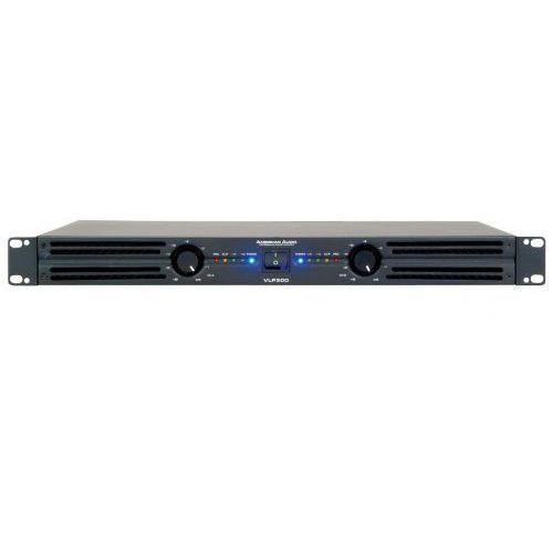 Wzmacniacze studyjne, American Audio VLP 300 wzmacniacz mocy 2x150W/4 Płacąc przelewem przesyłka gratis!
