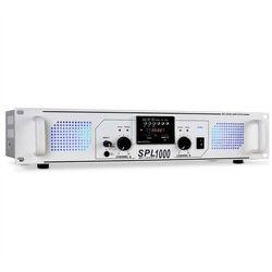 PA wzmacniacz Skytec SPL-1000 USB-SD-MP3 2800W biały