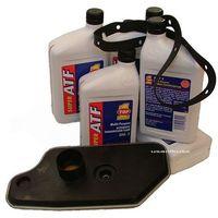 Oleje przekładniowe, Filtr oraz olej MERCON-III automatycznej skrzyni A4LD Ford Explorer 4x4 -2005