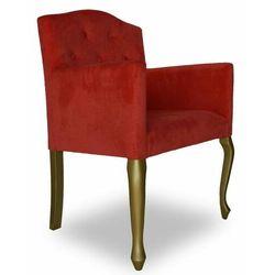 Fotel tapicerowany Ludwik niski 88 cm