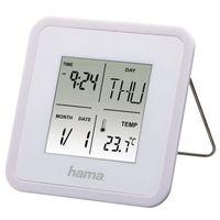 Zegary, Budzik HAMA Multi Alarm Clock Biały
