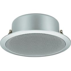 Głośnik sufitowy PA do zabudowy Monacor EDL-11TW/SI, 60 - 20 000 Hz, 100 V, Kolor: srebrny, 1 szt.