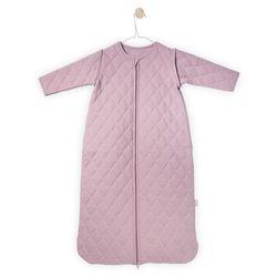 Jollein - Śpiworek do spania z rękawkami 6 -18 miesięcy - Mini Waffle Brudny róż Darmowa wysyłka i zwroty