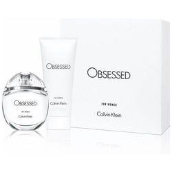 Calvin Klein Obsessed, Zestaw podarunkowy, woda perfumowana 50ml + mleczko do ciała 100ml