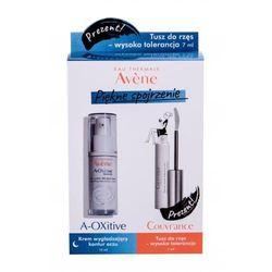 Avene A-Oxitive Smoothing zestaw Krem pod oczy na noc 15 ml + tusz do rzęs 7 ml dla kobiet
