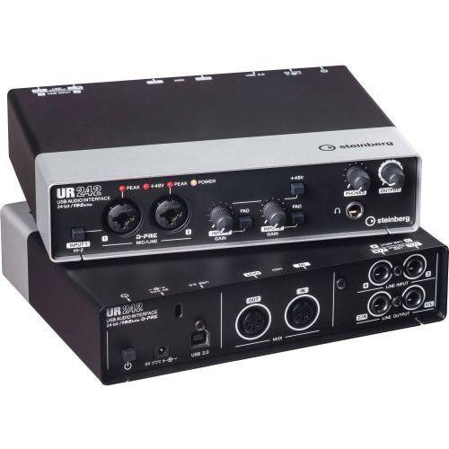 Pozostałe akcesoria dla fotografów, Steinberg UR 242 interface audio USB 2.0 Płacąc przelewem przesyłka gratis!