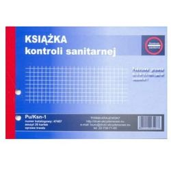 Księga kontroli sanitarnej A5 [Pu/Ksn-1]