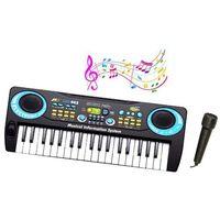 Instrumenty dla dzieci, DROMADER My Music Keyboa rd + Mikrofon