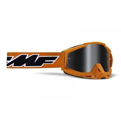 Gogle i okulary motocyklowe, Fmf gogle powerbomb rocket orange szyba mirror sil