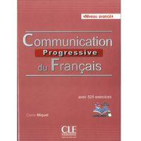 Książki do nauki języka, Communication progressive avance 2ed książka + CD - Dostawa 0 zł (opr. miękka)