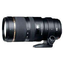 Obiektyw Tamron 70-200 mm f/2.8 Di VC USD (Nikon) + Velbon Monopod UP-400